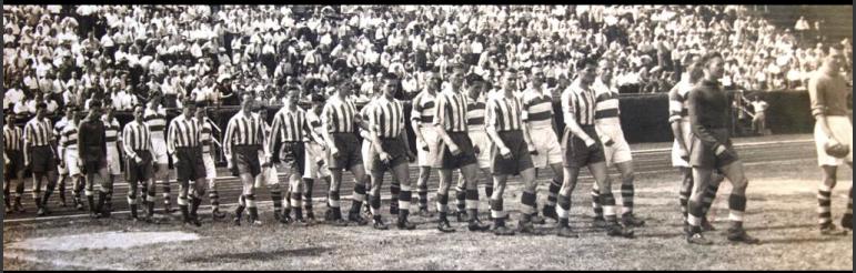 Último partido disputado por el equipo contra el Coleraine en 1960.